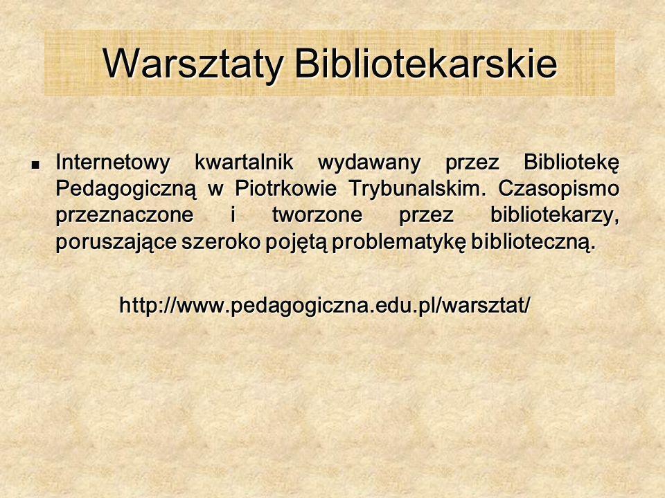 Warsztaty Bibliotekarskie