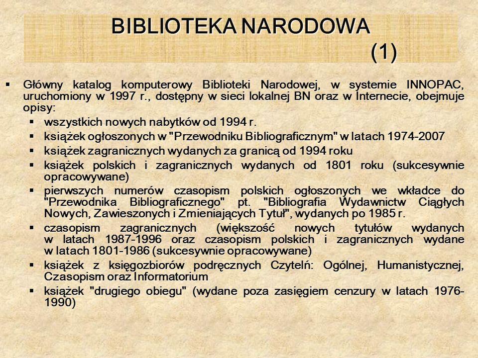 BIBLIOTEKA NARODOWA (1)