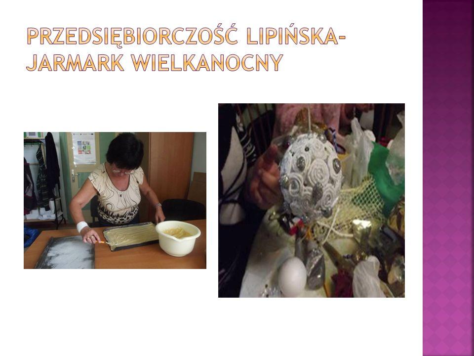 Przedsiębiorczość Lipińska-Jarmark wielkanocny