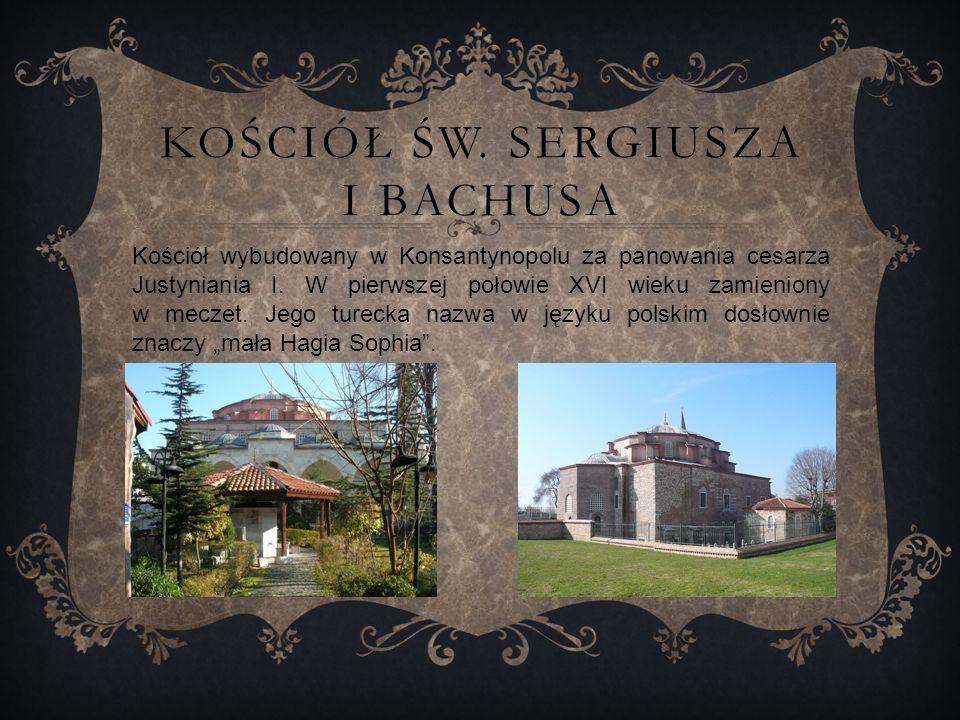 Kościół św. Sergiusza i Bachusa