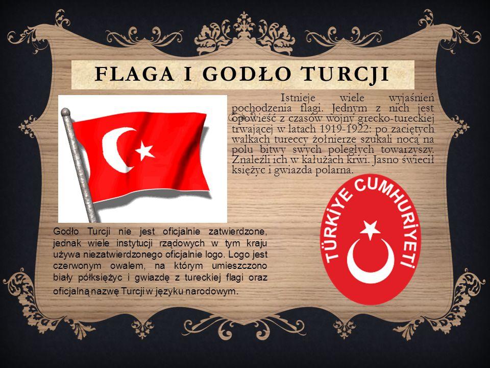 FLAGA I GODŁO TURCJI