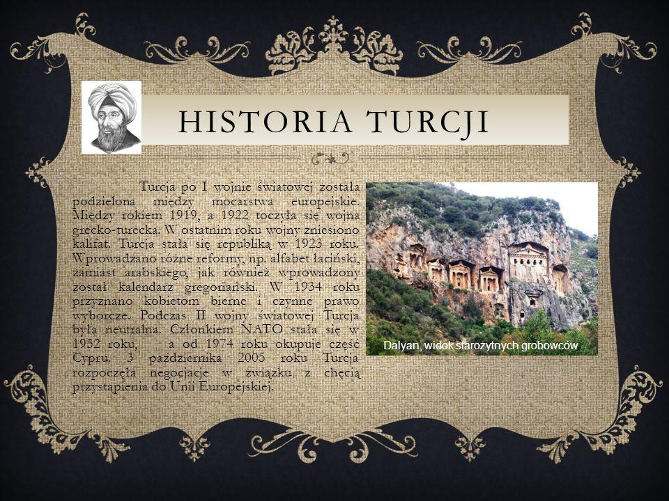 HISTORIA TURCJI