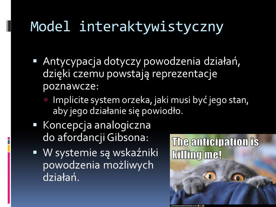 Model interaktywistyczny
