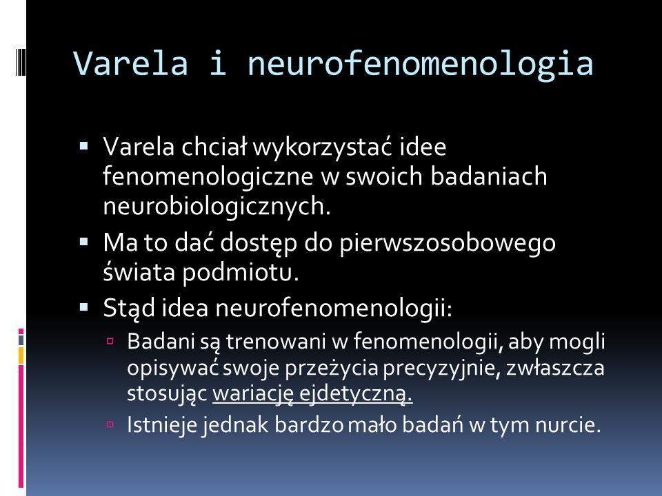 Varela i neurofenomenologia