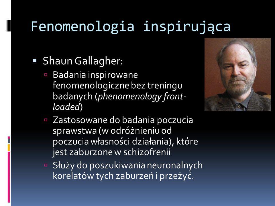 Fenomenologia inspirująca