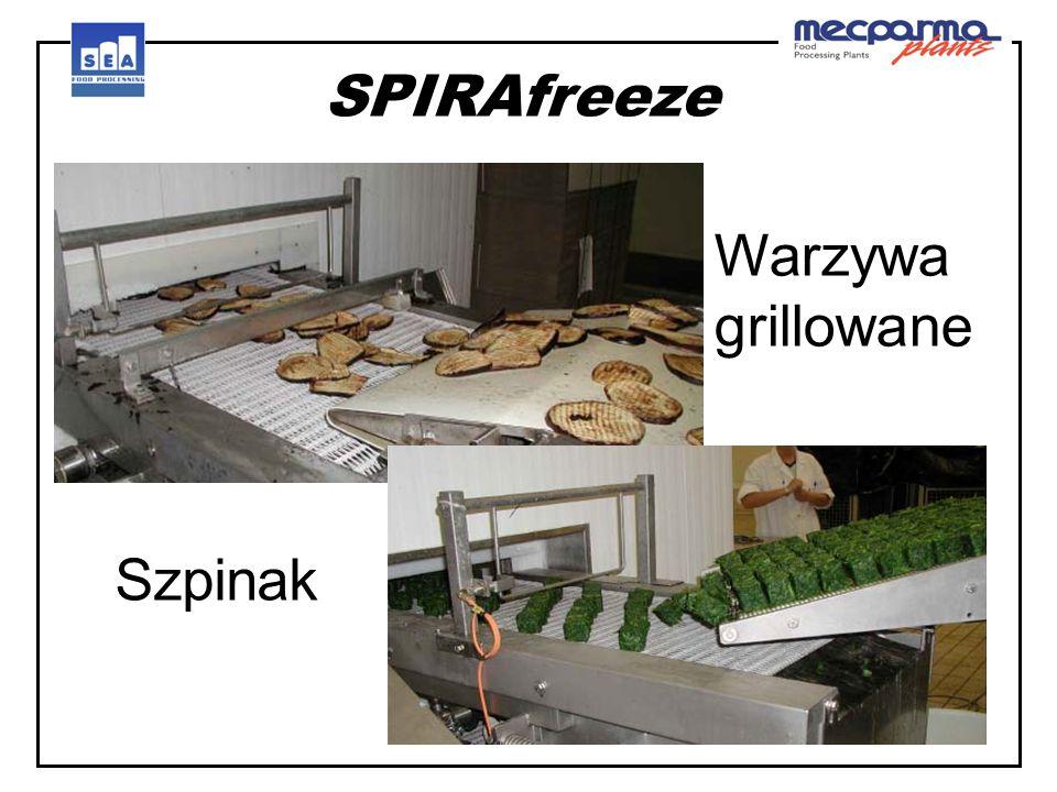 SPIRAfreeze Warzywa grillowane Szpinak