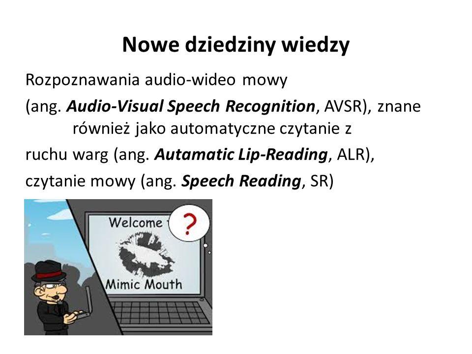 Nowe dziedziny wiedzy