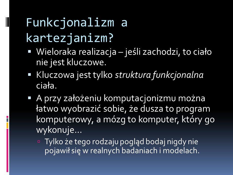 Funkcjonalizm a kartezjanizm