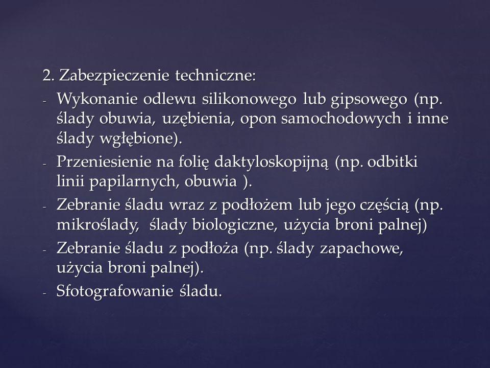 2. Zabezpieczenie techniczne: