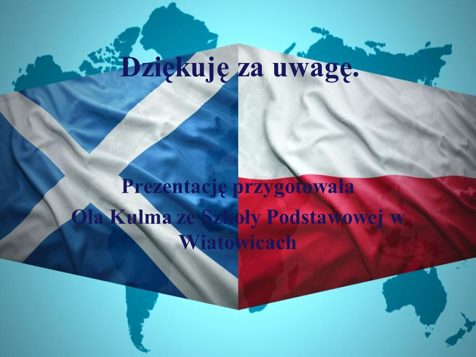 Prezentację przygotowała Ola Kulma ze Szkoły Podstawowej w Wiatowicach