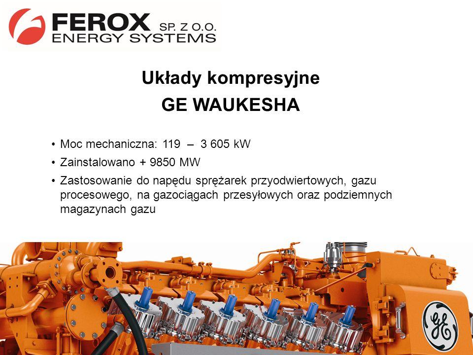 Układy kompresyjne GE WAUKESHA