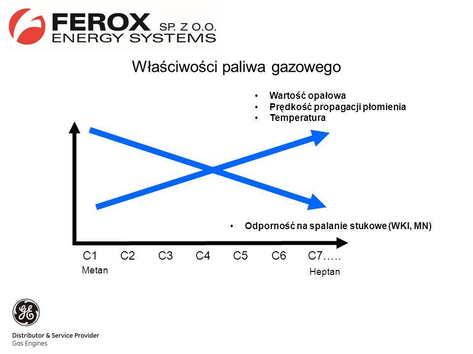Właściwości paliwa gazowego