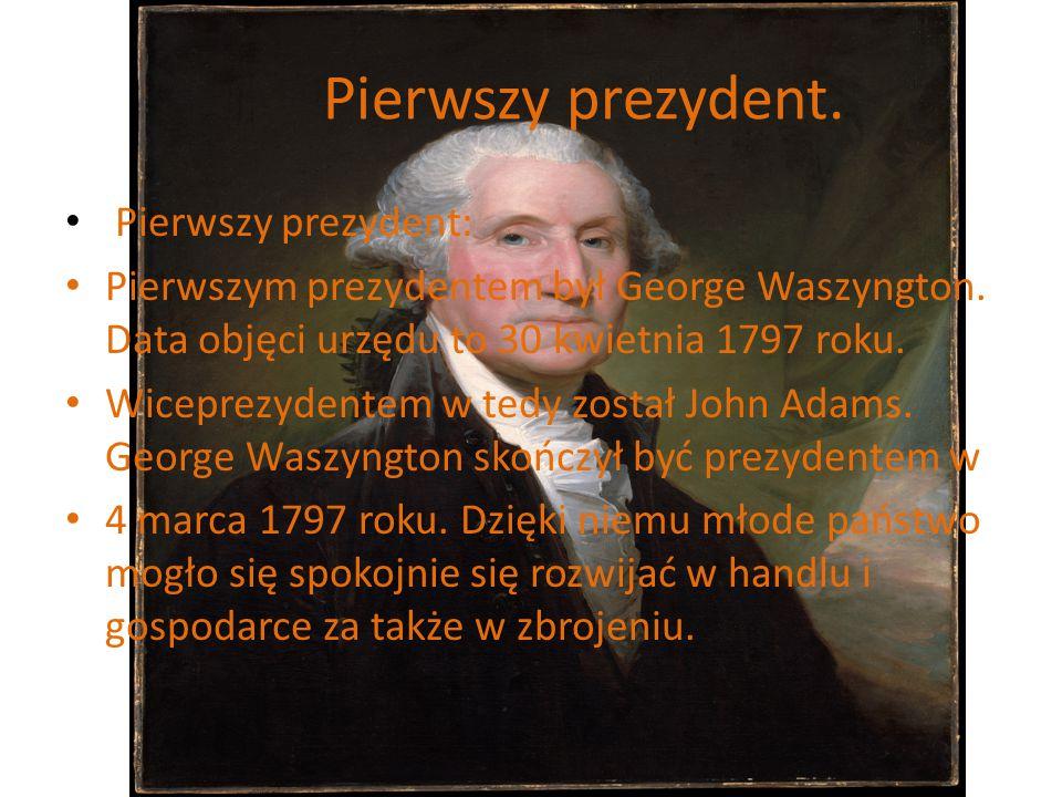 Pierwszy prezydent. Pierwszy prezydent: