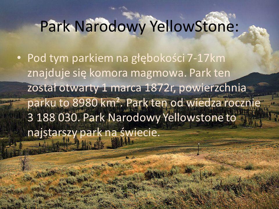 Park Narodowy YellowStone: