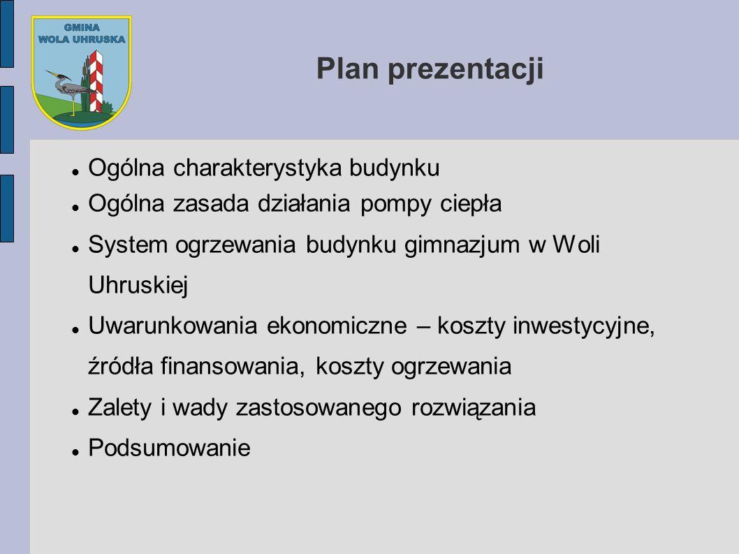 Plan prezentacji Ogólna charakterystyka budynku