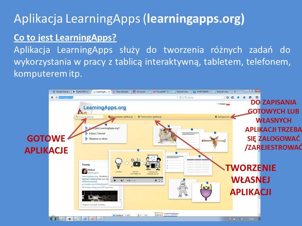 Aplikacja LearningApps (learningapps.org)