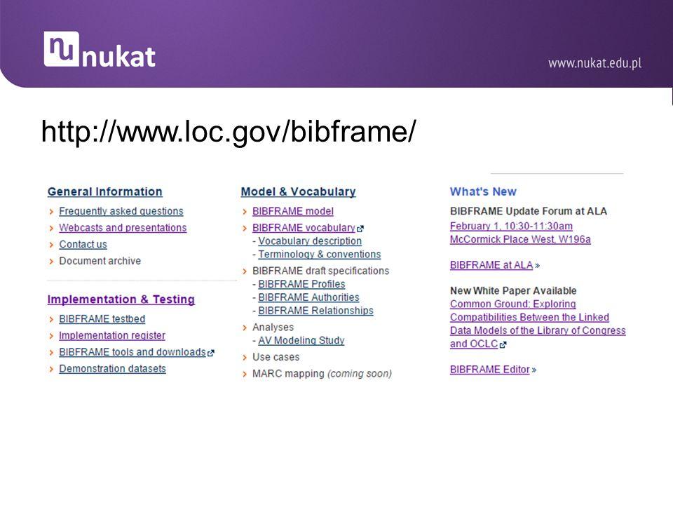 http://www.loc.gov/bibframe/ 10