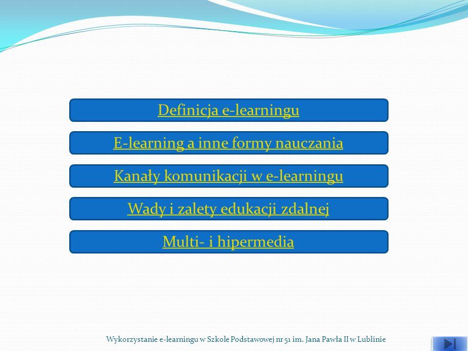 Definicja e-learningu