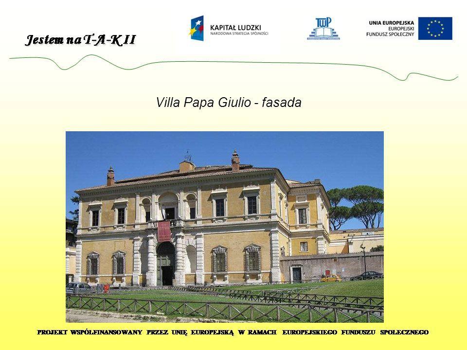 Villa Papa Giulio - fasada