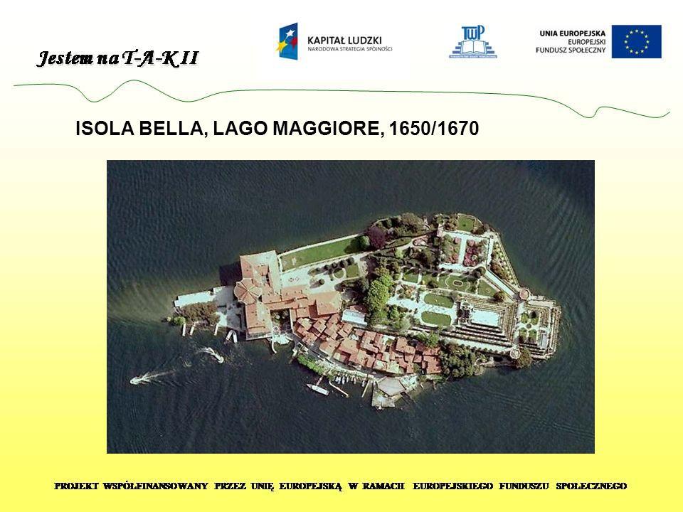 ISOLA BELLA, LAGO MAGGIORE, 1650/1670