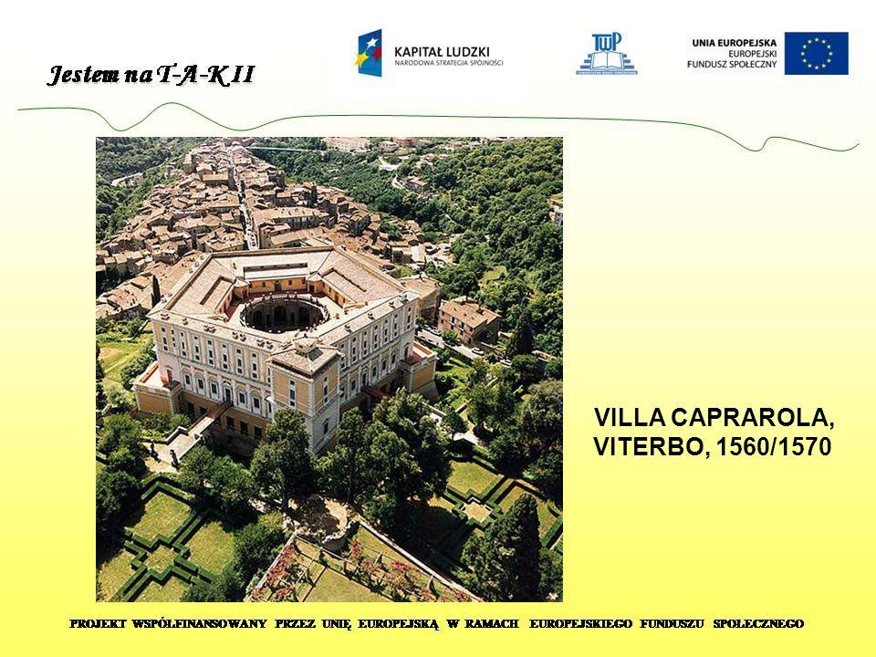 VILLA CAPRAROLA, VITERBO, 1560/1570