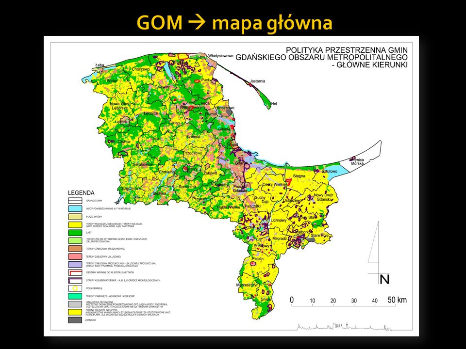 GOM  mapa główna