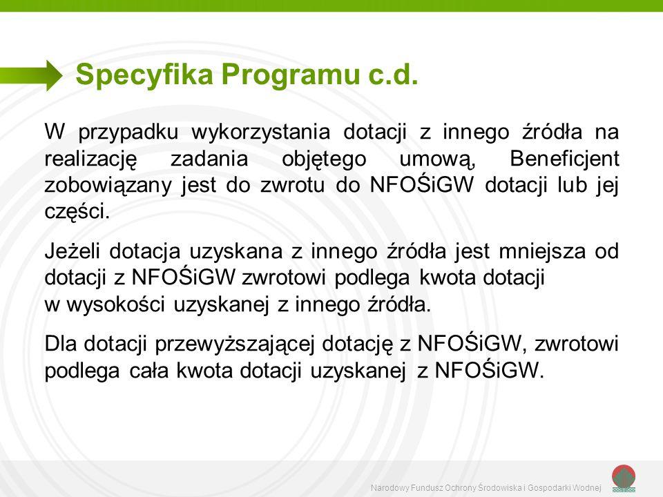 Specyfika Programu c.d.