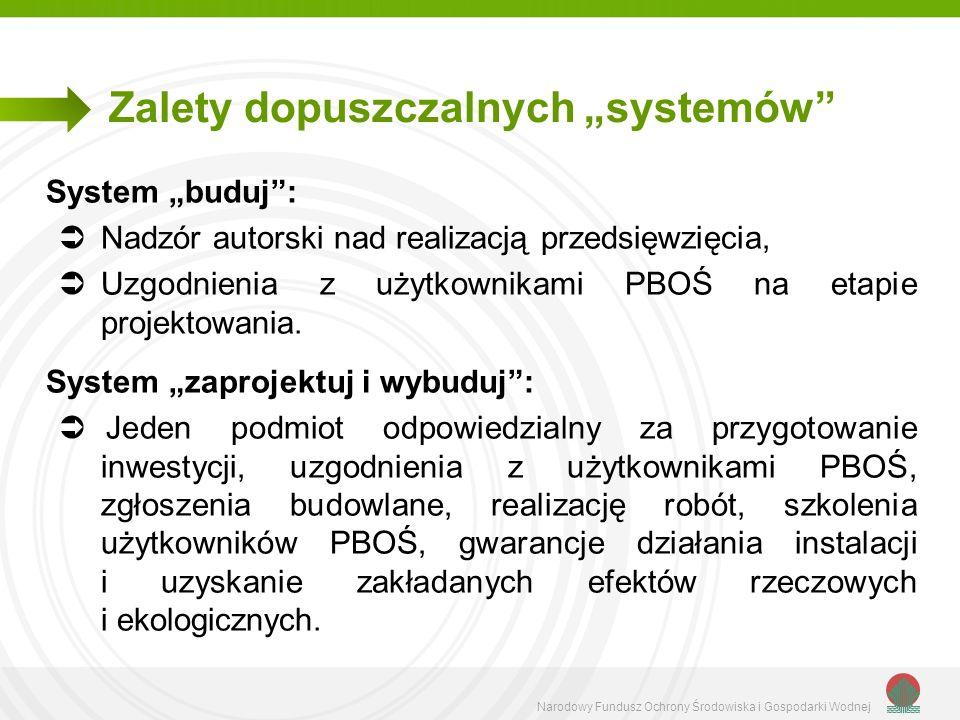 """Zalety dopuszczalnych """"systemów"""