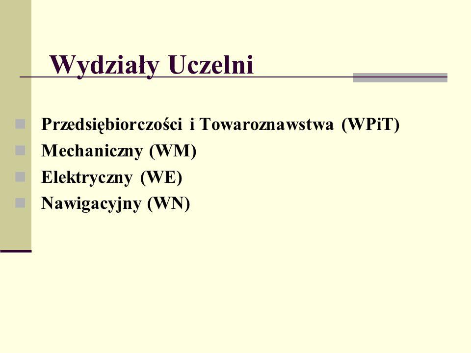 Wydziały Uczelni Przedsiębiorczości i Towaroznawstwa (WPiT)