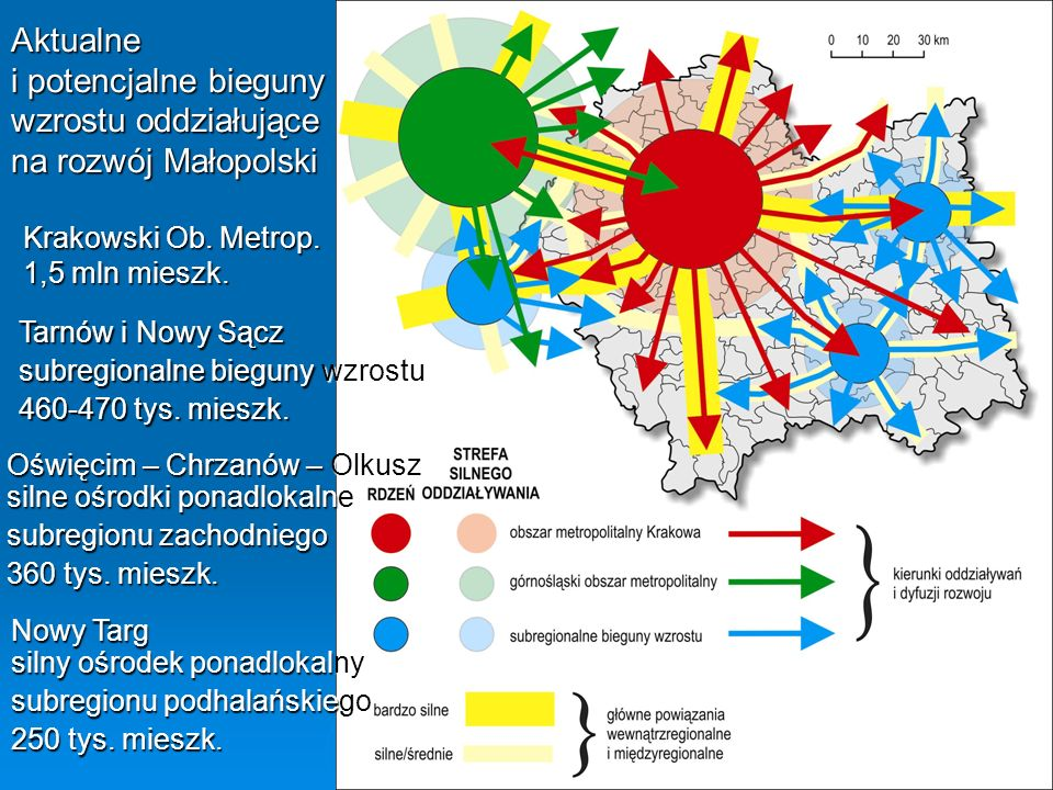 Krakowski Ob. Metrop. 1,5 mln mieszk.