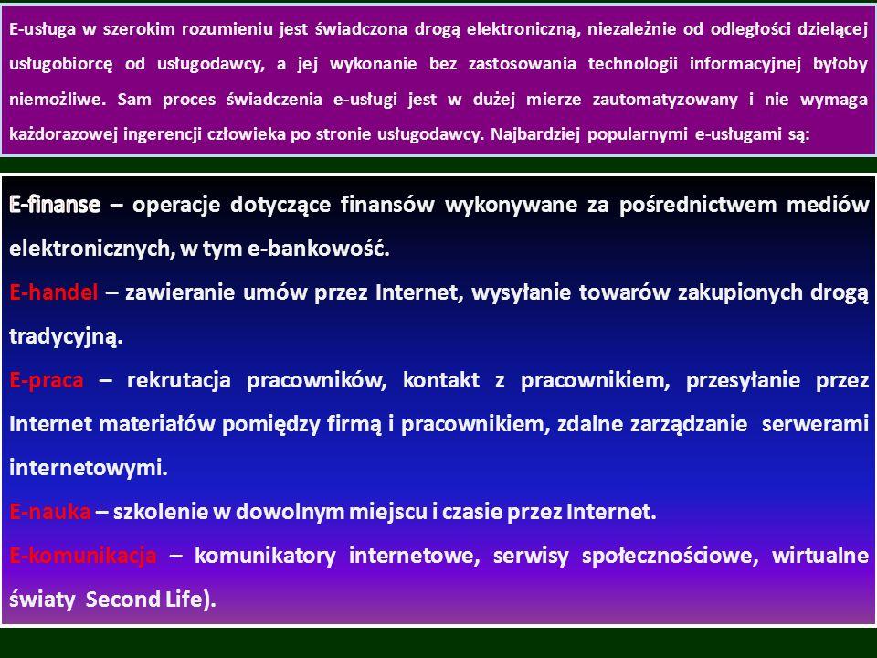 E-nauka – szkolenie w dowolnym miejscu i czasie przez Internet.