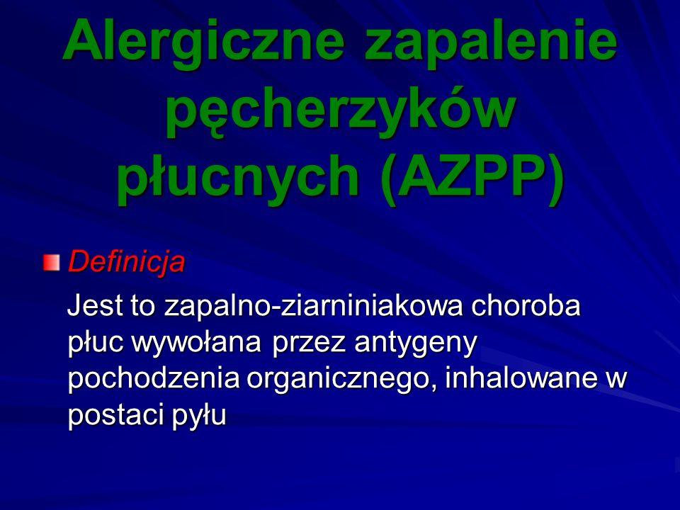 Alergiczne zapalenie pęcherzyków płucnych (AZPP)