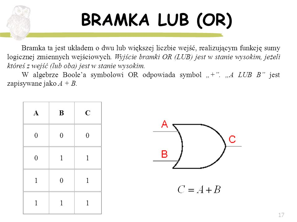 BRAMKA LUB (OR)