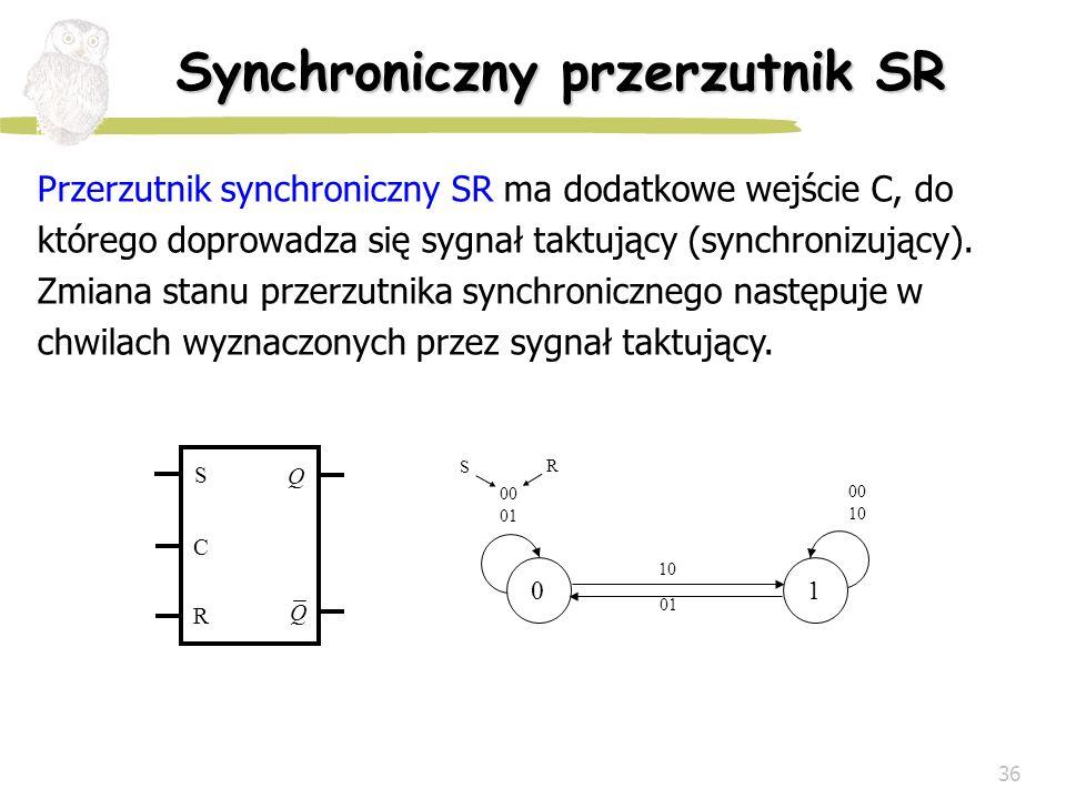 Synchroniczny przerzutnik SR