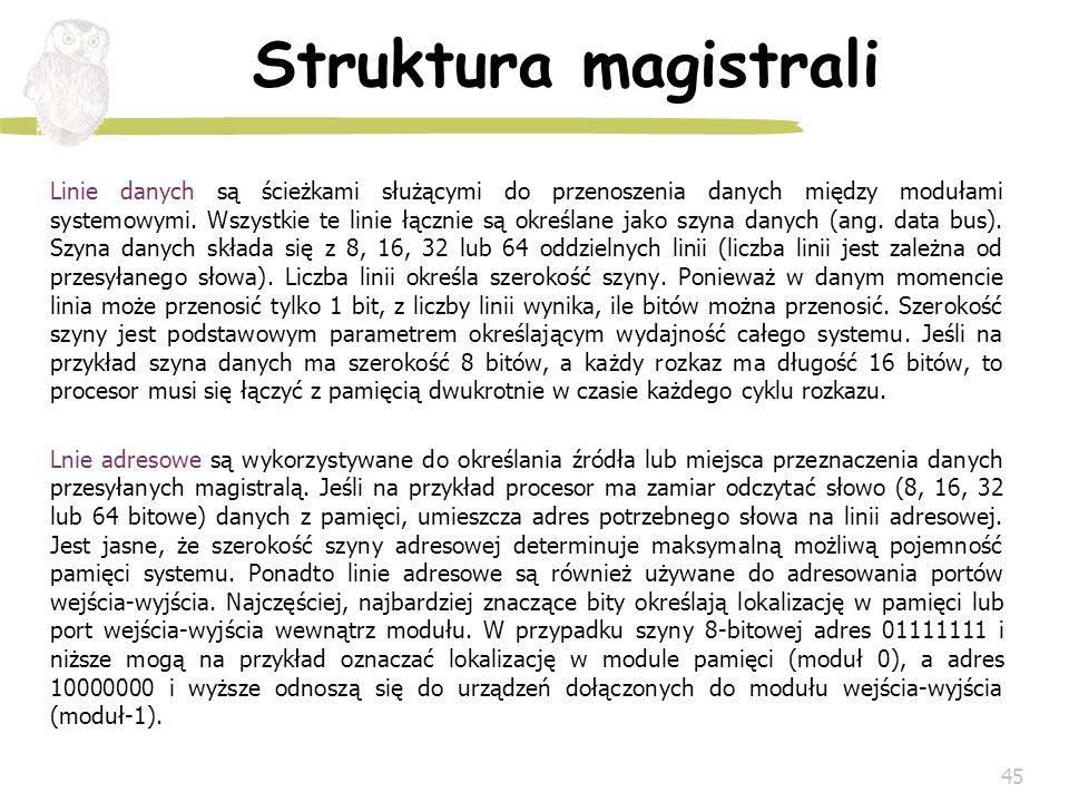 Struktura magistrali