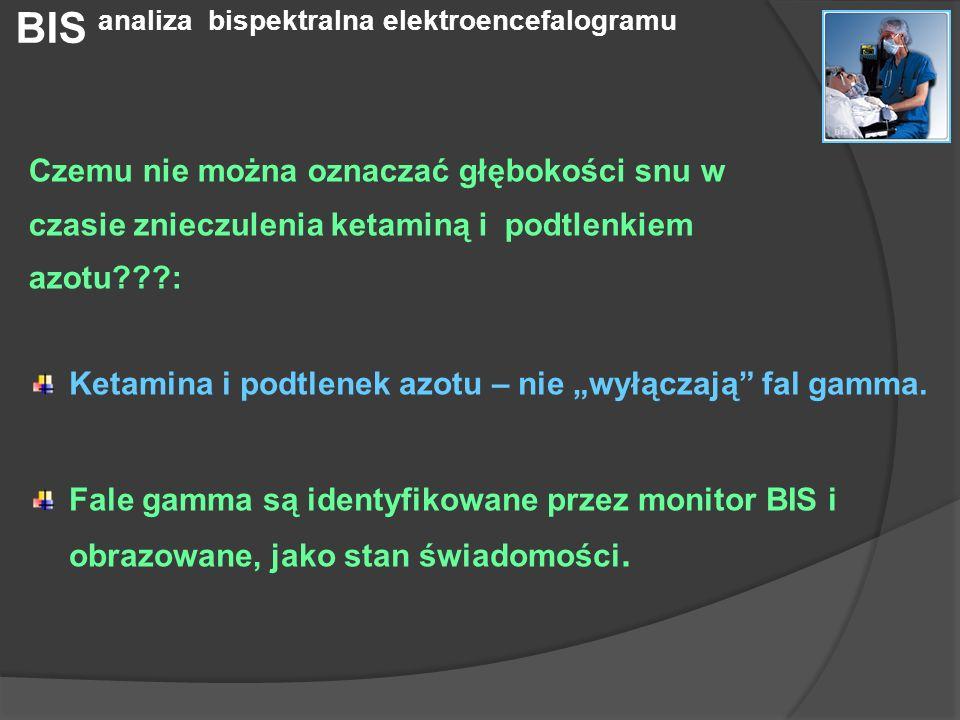 BIS analiza bispektralna elektroencefalogramu