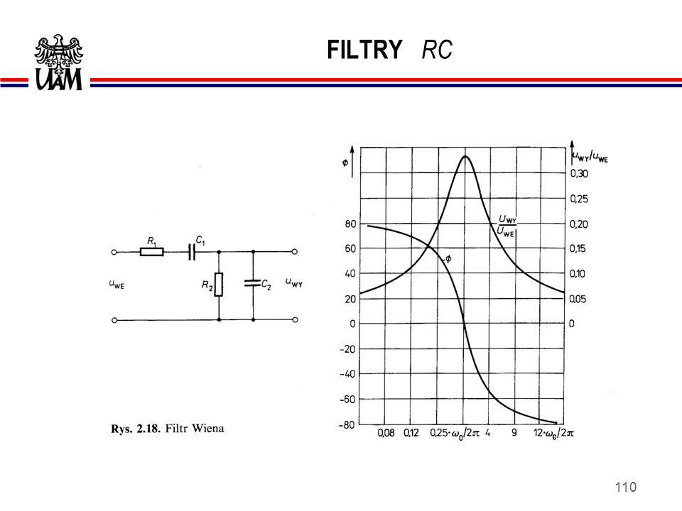 FILTRY RC