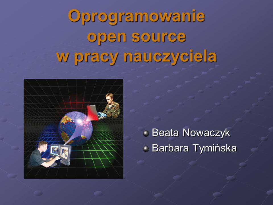 Oprogramowanie open source w pracy nauczyciela