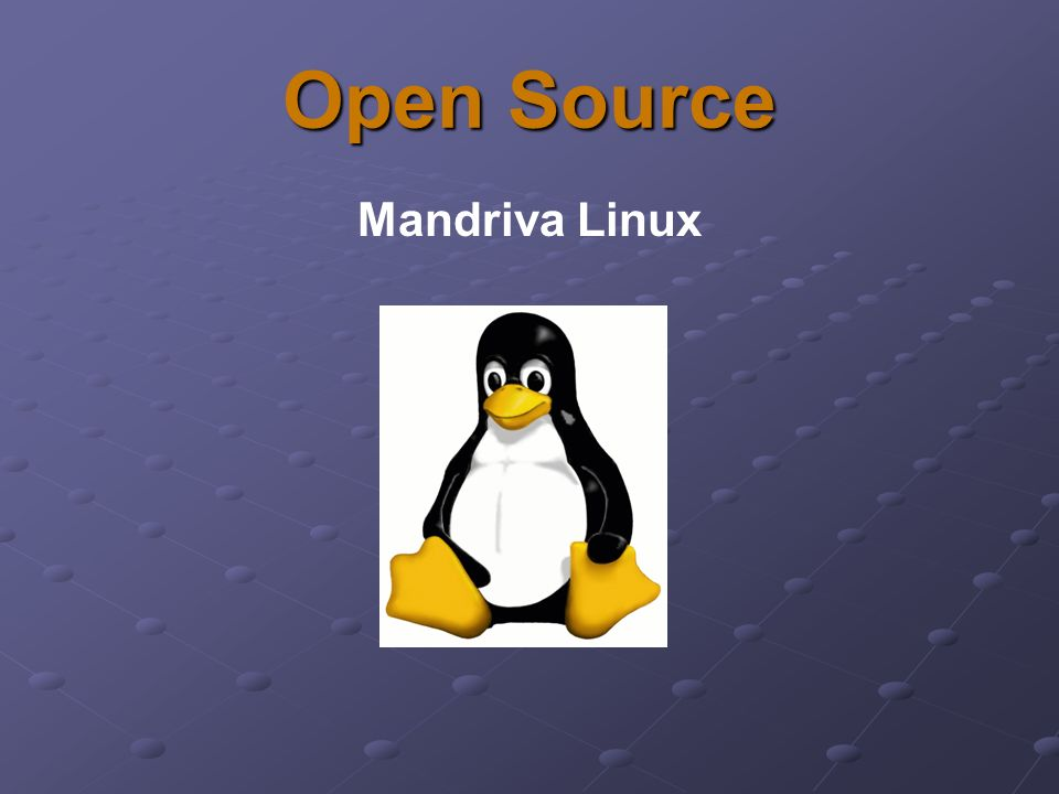Open Source Mandriva Linux