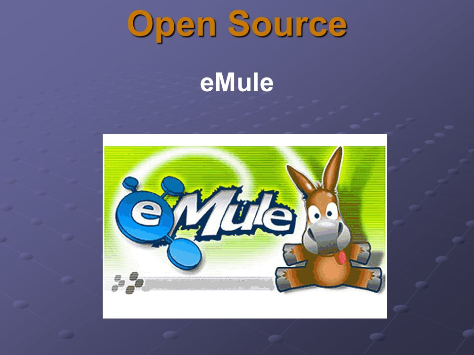 Open Source eMule
