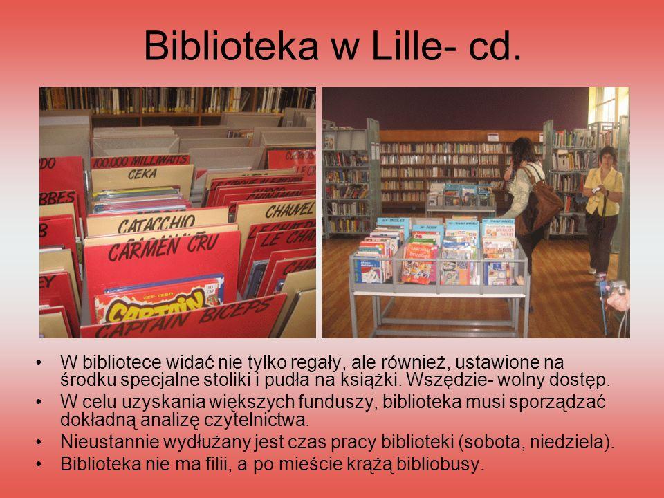 Biblioteka w Lille- cd.