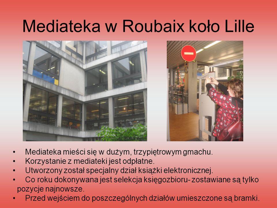 Mediateka w Roubaix koło Lille