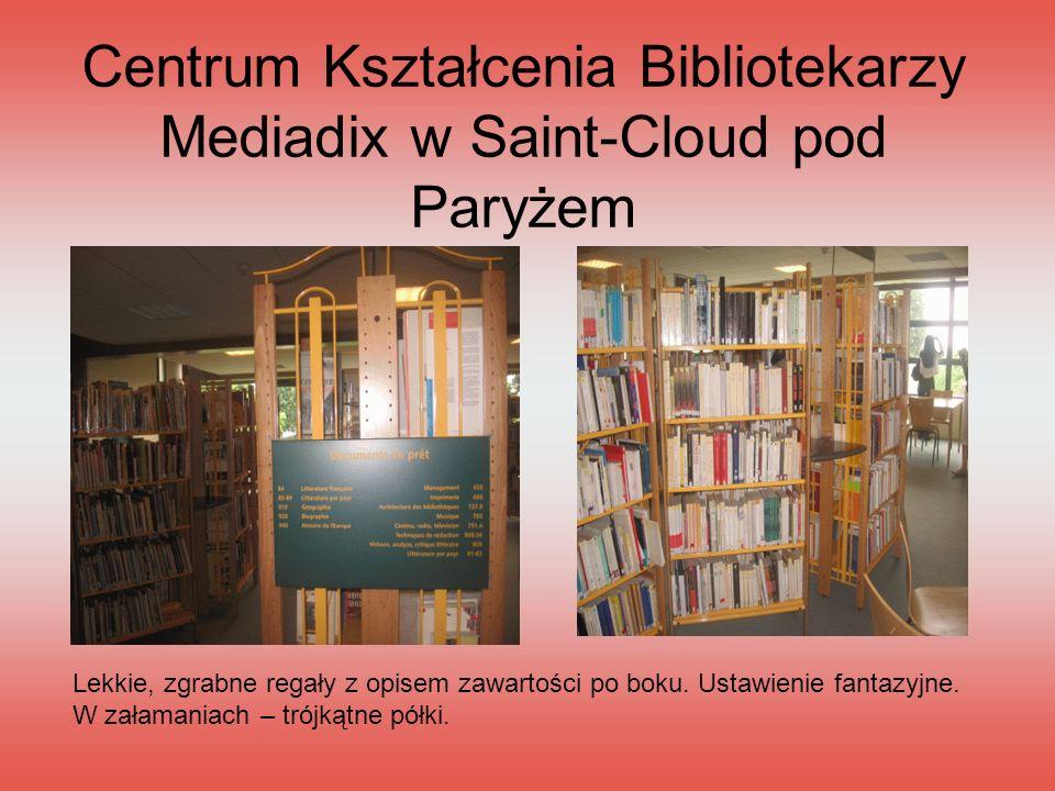 Centrum Kształcenia Bibliotekarzy Mediadix w Saint-Cloud pod Paryżem