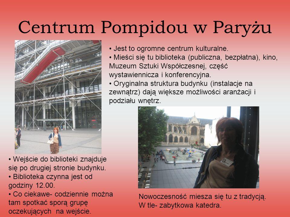Centrum Pompidou w Paryżu
