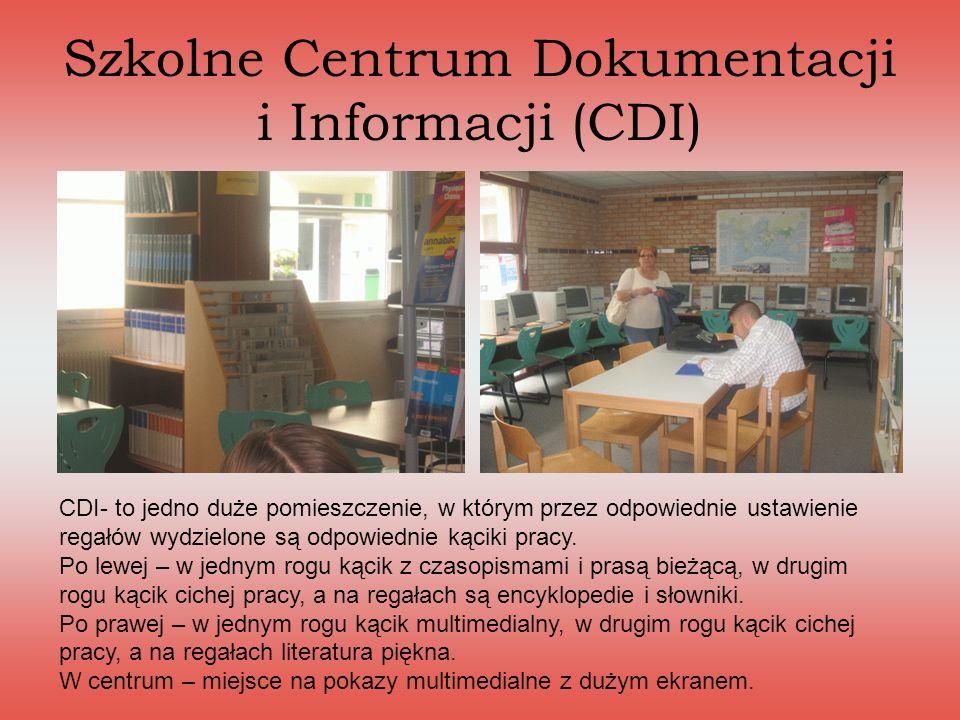 Szkolne Centrum Dokumentacji i Informacji (CDI)