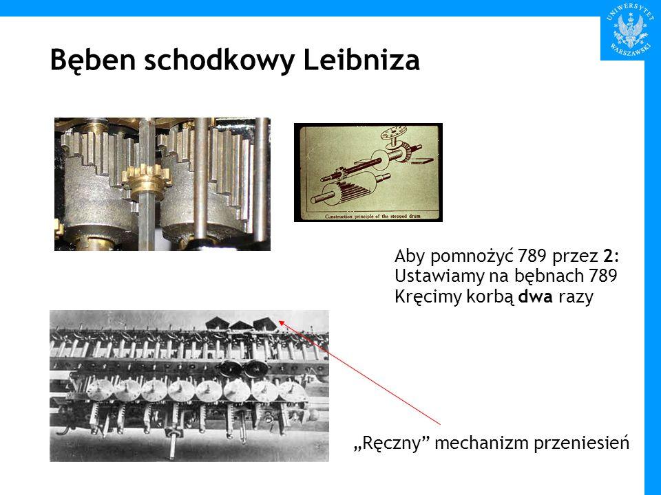 Bęben schodkowy Leibniza