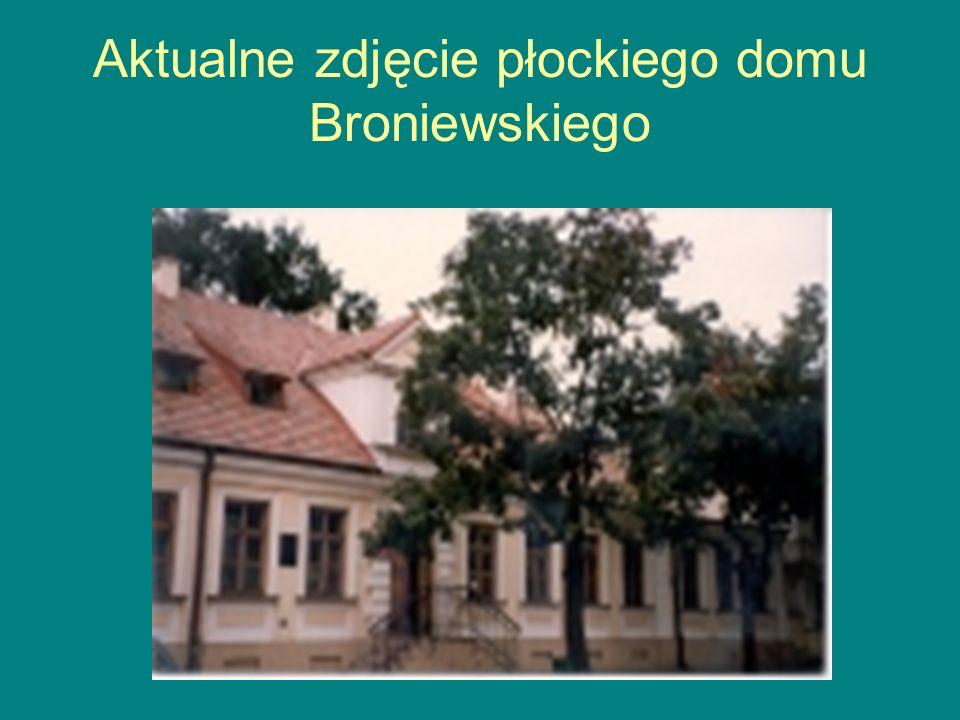 Aktualne zdjęcie płockiego domu Broniewskiego