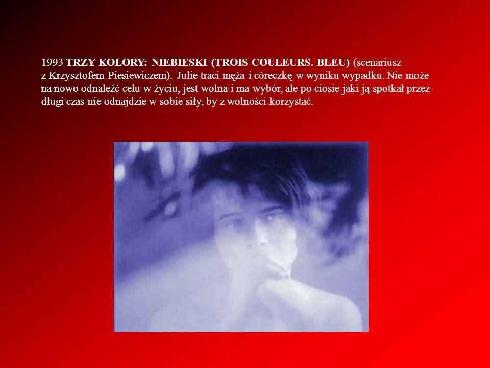 1993 TRZY KOLORY: NIEBIESKI (TROIS COULEURS