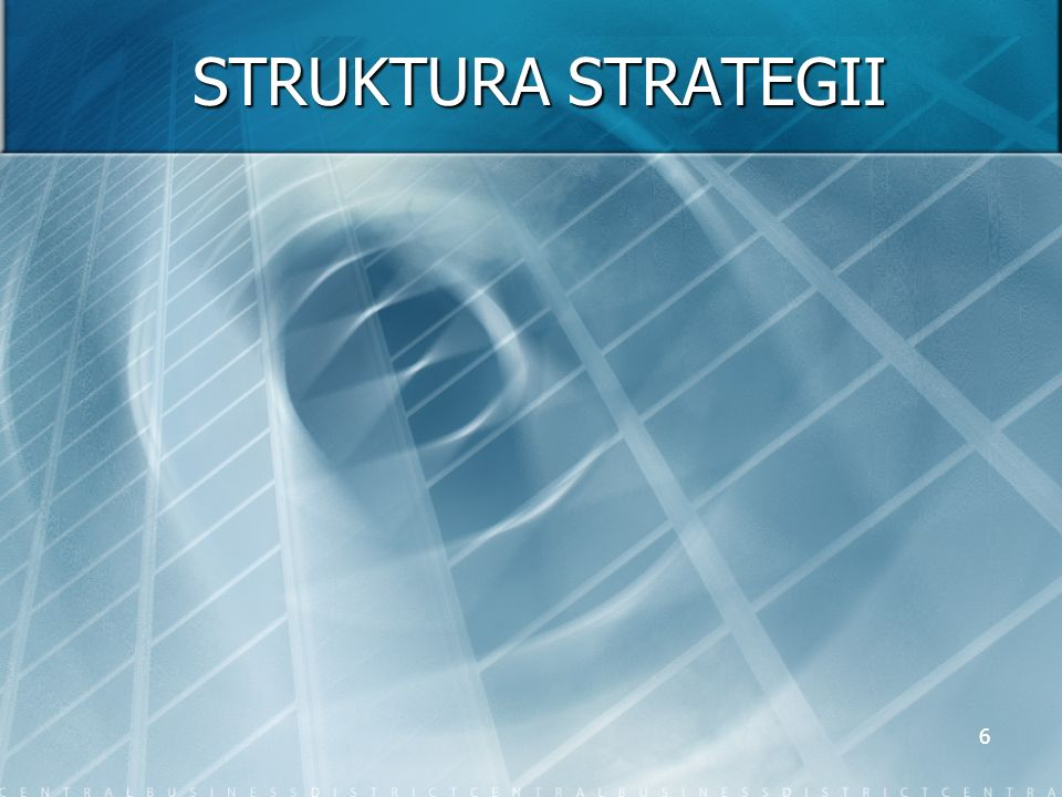 STRUKTURA STRATEGII
