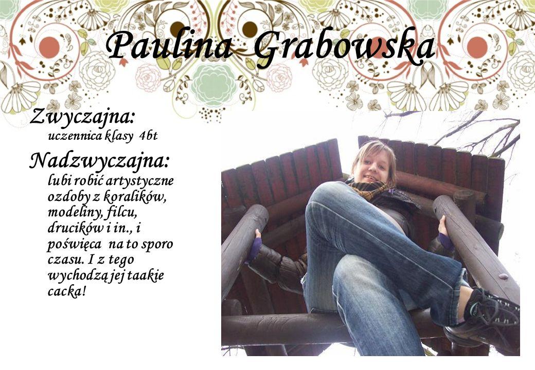 Paulina Grabowska